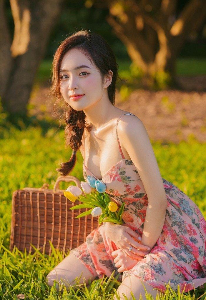 Hot Girl Lê Phương Anh lộ clip nóng gây bão MXH 1